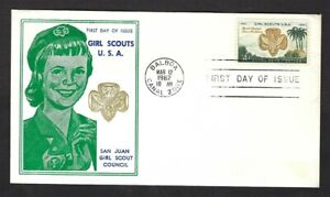 1962 Canal Zone 156 Girl Scouts FDC Fidalgo San Juan Council