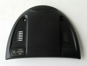 Genuine MINI Black Interior Roof Light Switch Cover for R55 R56 R60 - 3456147
