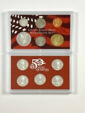 US Mint 2004 Silver Proof 11 Coin Set in Original Box with COA