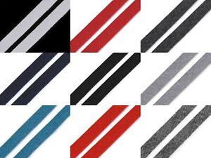 (1,10€/m) 2,5 Meter Flachkordel Hoodieband Schnur Kordel - 15 mm - viele Farben