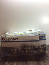 Cuisinart Classic Stainless Steel Cookware Set *READ*