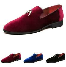 38-47 New Men Leather Shoes Nightclub Pointy Toe Slip On Pumps Low Top Feng8