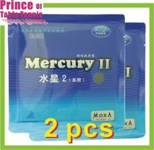 2 pcs Yinhe /  Galaxy Mercury 2 Table tennis Pimples in Rubber (MOXA)