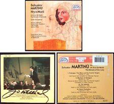 Jiri BELOHLAVEK Signed MARTINU The Miracle of Our Lady Hry o Marii 2CD Supraphon