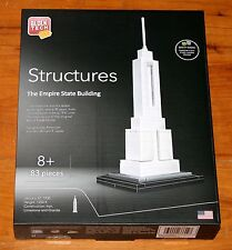 Block Tech Structures EMPIRE STATE BUILDING 83 Pc Architecture NEW