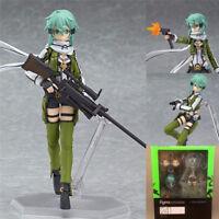 Sword Art Online 2 Sinon Asada Figure SAO Collection Toy Figma 241 New Year Gift