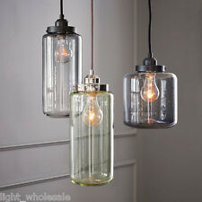Vintage Hanging Wine Bottle Ceiling Light Chandelier Pendant Edison Bar Lamp