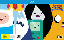 Adventure Time (Complete Seasons 1-5) NEW Cult Blu-Ray 6-Disc Set Jeremy Shada