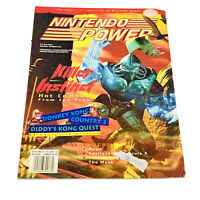 Nintendo Power Magazine Volume 76 Killer Instinct + Batman Poster Vtg SNES NES