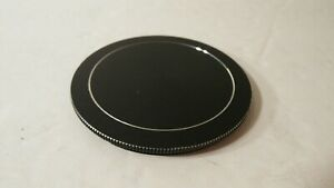 RARE CLEAN BLACK METAL 62MM SCREW IN ON LENS CAP COVER -USA SELLER-FAST SHIPPING