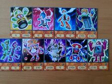 YuGiOh Orica/Anime Batteriemann/Batteryman Set 9 Karten