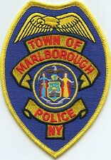 MARLBOROUGH NEW YORK NY POLICE PATCH