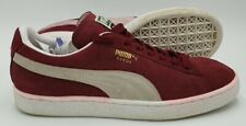 Puma Suede Classic Low Trainers 352634 75 Red/White UK6/US7/EU39