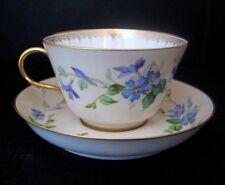 2244*  tasse et sous tasse en porcelaine fine manufacture de sèvres 1856