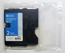 Original Ricoh RC-C11 RC C 11 Cyan Aficio G500 G 17.6oz700 700 Packaging