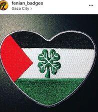 "Palestine Tims CSC Celtique patch 3"" Irlande Anti-FA"
