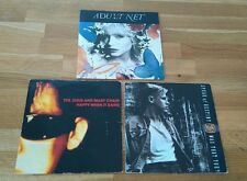 """Indie Alt Rock Job Lot 3x UK 7"""" Adult Net Jesus and Mary Chain Spear Of Destiny"""