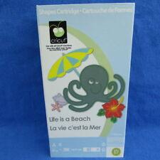Cricut Life Is A Beach Cartridge Mermaid Turtle Flamingo Sandcastle Tropical Sun