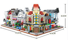 Christmas Gifts LOZ Brick Store City Assembly Square Designer Toys for Kids