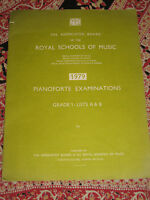 The Ass Board of Royal Schools of Music 1979 Pianoforte Examinations Grade 1