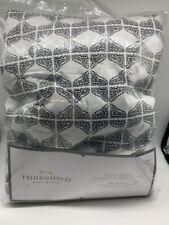 Threshold Ironing Board Cover Wide Padded White/ Black New Open Pkg