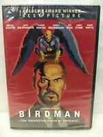 BIRDMAN DVD NEW (The Unexpected Virtue of Ignorance) Michael