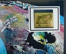 131/Space Raumfahrt 1969 Yemen North Jemen Komarov Gagarin Gold 875 B Imperf RAR