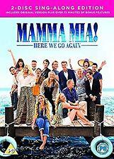 Mamma Mia! Here We Go Again (DVD + Digital Download) [2018], , Used; Like New DV