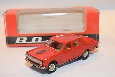 RUSSIAN CAR USSR CCCP A26 VOLGA GAZ 24 MOSCOW OLYMPIC BEAR RED MINT BOXED RARE