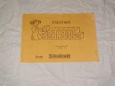 KNITTING MACHINE MAGAZINE CLOTHES FOR CHILDREN