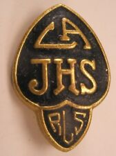 La Jhs Los Angeles Jr High School Vintage Lapel Pin/Tie Tack sorority fraternity