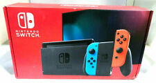 Nintendo Switch Console with Neon Red and Neon Blue Joy-Con-Used