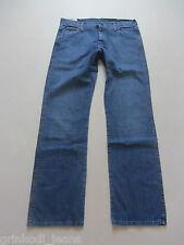 "Wrangler Bootcut Regular Fit Jeans Hose W 33 /L 34, NEU ! ""USED DARK"" Denim ! 48"