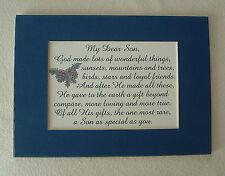 SON God MADE Loyal FRIENDS Wonderful RARE GIFT Loving TRUE verses poems plaques