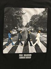 The Beatles Classic ABBEY ROAD Black T-Shirt Sz. S