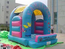 MASSIVE JUMPING CASTLE SALE - 4mx4m Castle Fairy Theme **Commercial** USED
