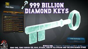 Borderlands 3 Modded MAX 99 BILLION Diamond Keys 💎 🗝️ PC Stadia XBOX