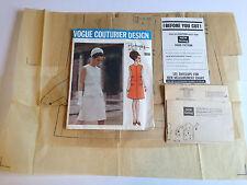 Vogue Couturier Design 1916, Pertegaz of Spain, 1968 Factory Folded UNCUT