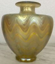 Antique Loetz Phaenomen Iridescent Art Glass Vase Unsigned Nouveau Jugendstil