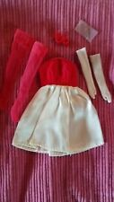 Vintage Barbie Red Flare/ Silken Flame Outfit, #929