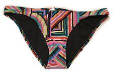 NEW Volcom Women's Rainbow Rebellion Basic Full  Bikini Bottom