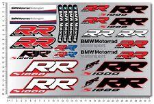 s1000RR HP4 Motorrad Aufkleber blatt Laminiert stickers bmw s1000 RR Motorsport