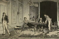 William Quiller ORCHARDSON (1832-1910): Radierung HARD HIT Kartenspieler Poker