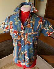 ROCKMOUNT made in USA  - PEARL SNAP BUTTON - SOUTHWEST SHIRT SIZE=S