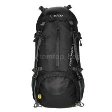 Lixada 50L Outdoor Sport Hiking Camping Backpack Mountaineering Bag BLACK V6W9