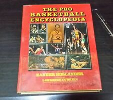 The Pro Basketball Encyclopedia - Zander Hollander 1st Edition hardbound