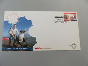 FDC Netherlands V&d 2002 Envelope First Day Stamped & Cancel