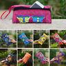 Lady Retro Boho Ethnic Embroidered Wristlet Handmade Clutch Bag Purse Wallet