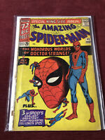 King-Size Amazing Spiderman Annual #2 Marvel Comics 1965 Silver Age Dr. Strange