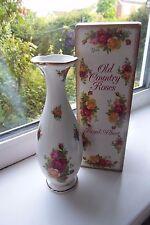 Royal Albert Old Country Roses Stem Vase Boxed 19 cm 1st Quality Bone China